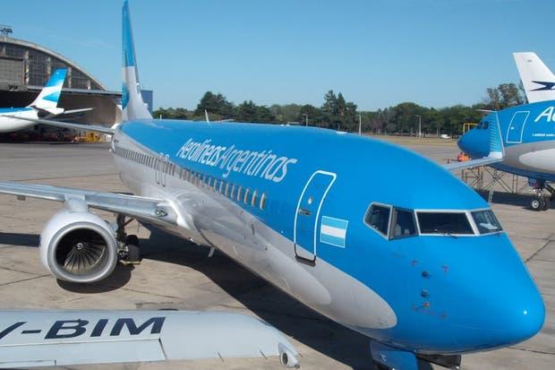 Un paro de pilotos de Aerolíneas afectó el servicio la semana pasada