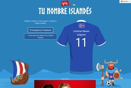 Tu nombre en islandés: conocé cómo te llamarías si vivieras en el país que es sensación de la Eurocopa 2016
