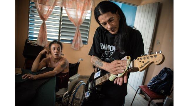 Gerson tocaba en una banda formada cuando existía la clínica