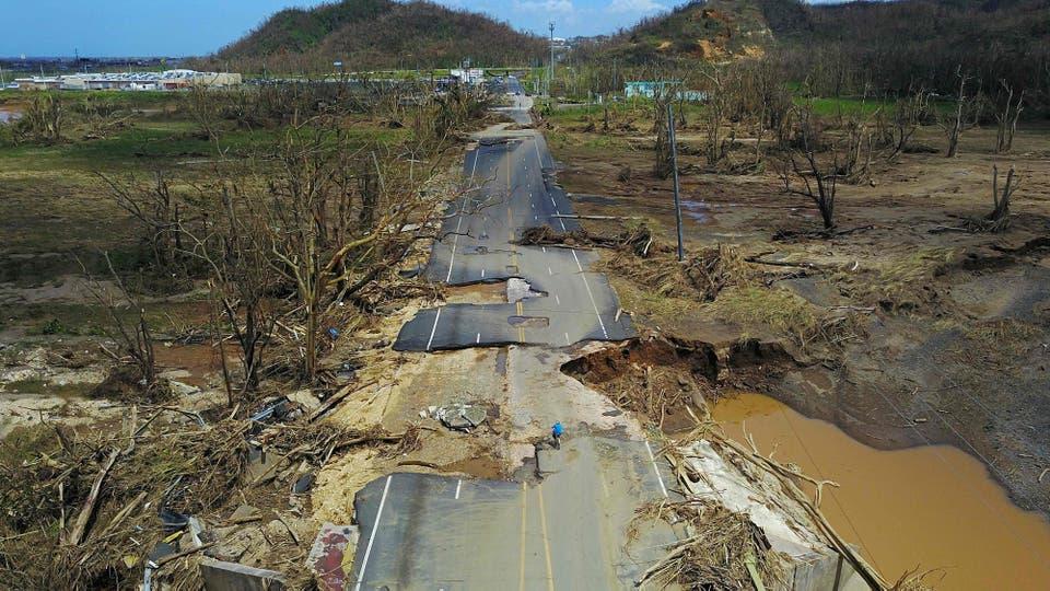 En fotos crisis total en puerto rico tras el demoledor - Puerto rico huracan maria ...