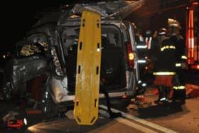 """Uno de los bomberos relató que """"el panorama era aterrador"""" cuando llegó el operativo"""