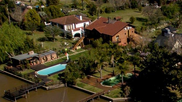La mansión de José López en Tigre