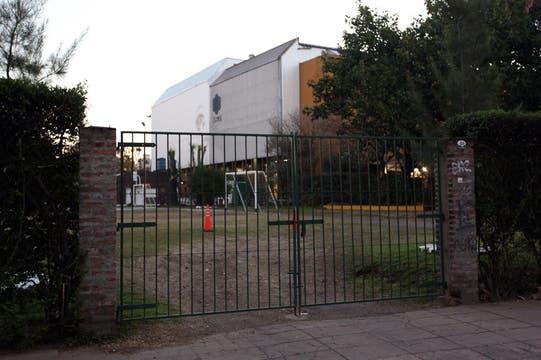 El predio deportivo de la Ceamse de Colegiales, donde Angeles fue a clases de gimnasia por última vez. Foto: LA NACION / Matías Aimar