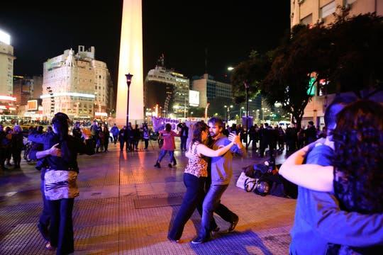 Los bailarines de tango reclamaron ante el cierre de milongas porteñas. Foto: LA NACION / Rodrigo Néspolo