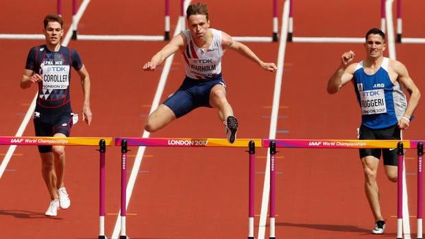 Ruggeri quebró otra vez el récord argentino en los 400m con vallas