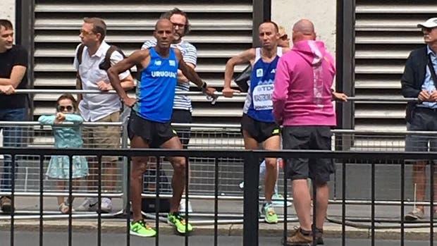 Mastromarino abandonó el kilómetro 30 del maratón masculino