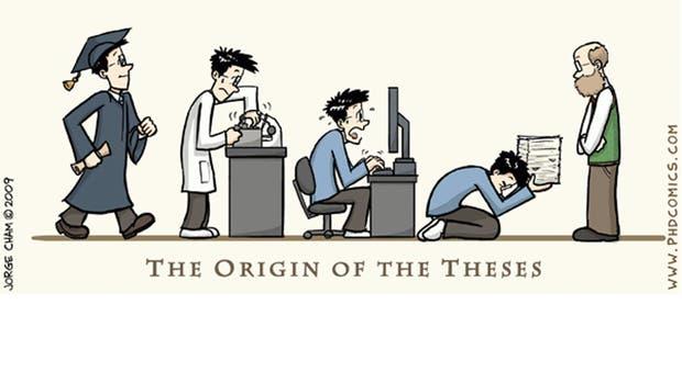 El origen de la tesis, por Jorge Cham