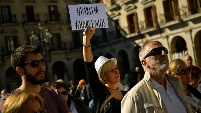 """""""Parlem-Hablemos"""", la consigna de las manifestaciones para este sábado"""
