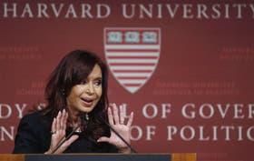 Cristina Kirchner respondió 10 preguntas, en su mayoría punzantes, durante su presentación en Harvard