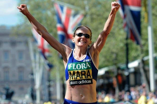 Mara Yamauchi fue segunda en la maratón de Londres en 2009 y tiene la segunda mejor marca en maratón de las británicas