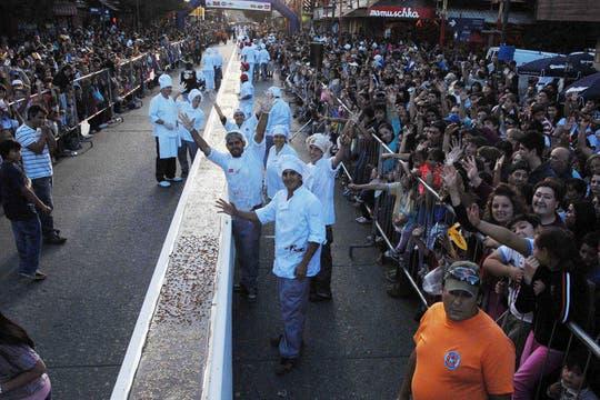 En Bariloche, el furor de Semana Santa fue el chocolate. Foto: LA NACION / Alfredo Leiva