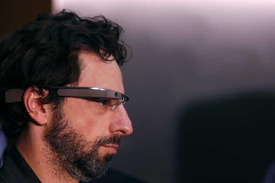 Sergey Brin, cofundador de Google, en una de sus apariciones públicas con los anteojos del proyecto Glass. Foto: Reuters