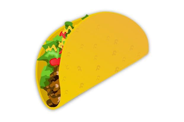 El taco mexicano, uno de los candidatos al emoji