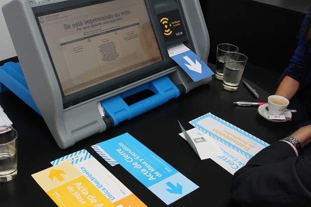 El sistema de boleta única electrónica utilizada en las elecciones para jefe de gobierno porteño