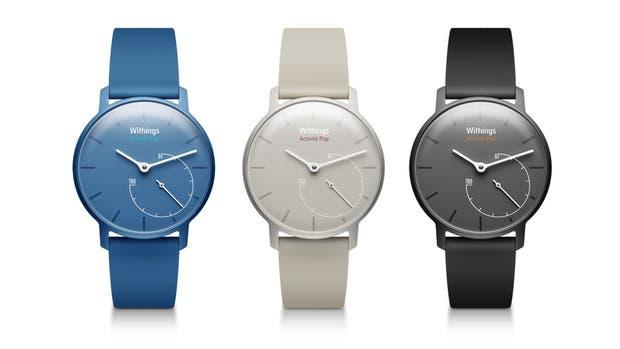 Los relojes pulsera Withings Activité; las funciones digitales se administran desde un smartphone