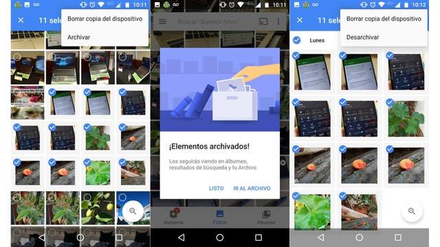 Google Fotos ya te deja ocultar tus imágenes privadas en el celular