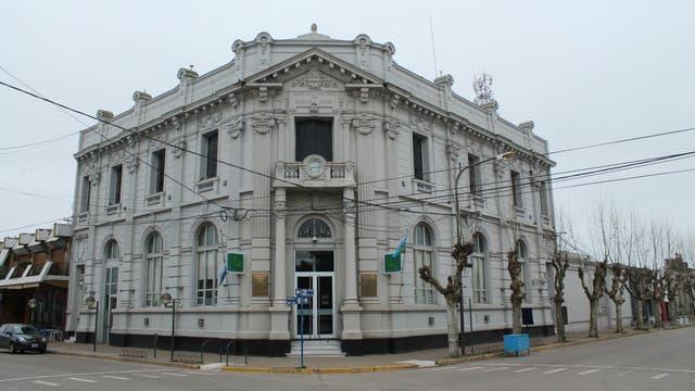 La sucursal del Banco Provincia de 25 de mayo