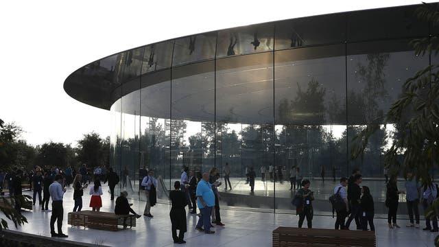 El auditorio está en el Apple Park, un complejo para 12 mil empleados