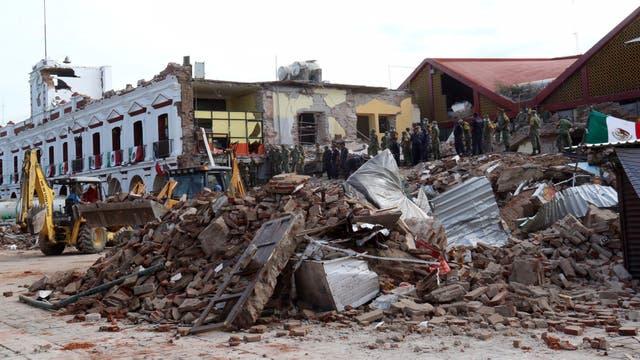 El terremoto ya se cobró varias vidas y hay cuantiosas pérdidas materiales