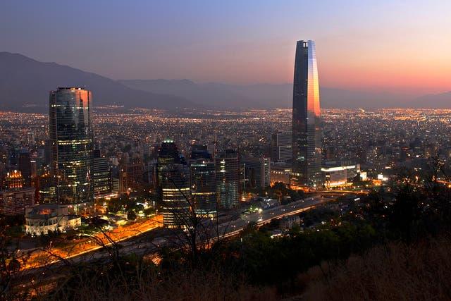 Santiago de Chile y un plus en la nieve