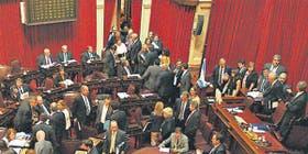 La oposición fracasó en su pelea por el quórum en el Senado