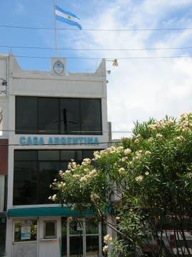 Desde la Casa Argentina en el Caribe mexicano. Foto: LA NACION LINE
