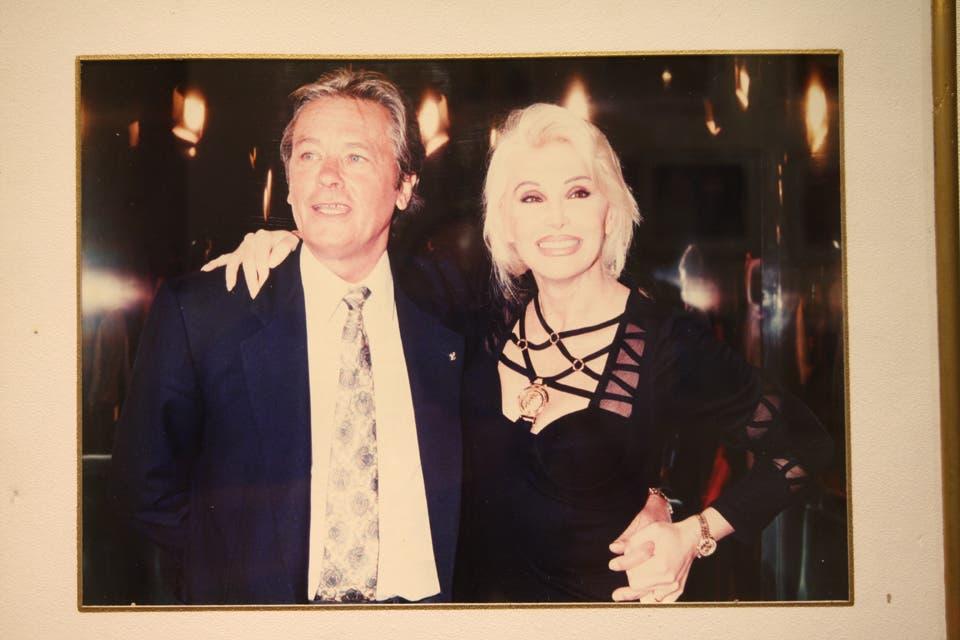 Susana y Alain Delon. Foto:Archivo
