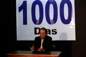 Terragno instaló la idea de que faltan 1000 días para que haya nuevo gobierno