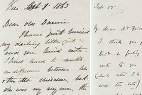 Darwin mantuvo durante años correspondencia regular con el botánico inglés Joseph Hooker