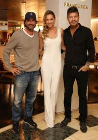 Marcelo Tinelli y Adolfo Cambiaso acompañaron Andrea Bursten en el relanzamiento de su restaurante
