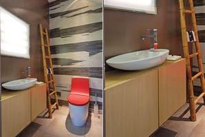 Un baño con diseño de alto impacto