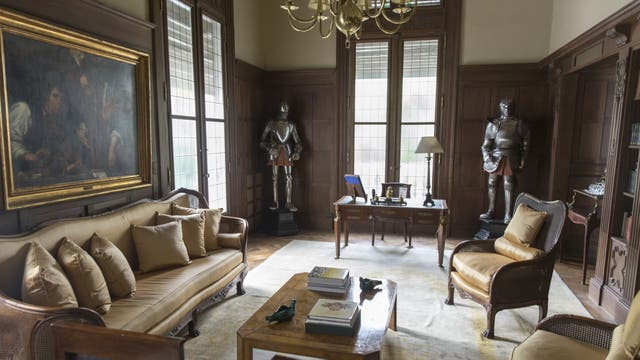 El embajador de Brasil, Sérgio França Danese, vive en el segundo y tercer piso y reserva la planta baja y el piano nobile (primer piso) para cócteles y ceremonias protocolares