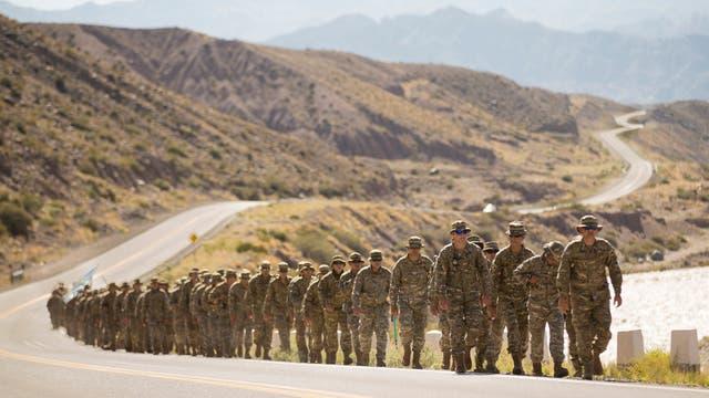 El recorrido por la Cordillera se extenderá durante 16 días