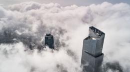 Una empresa japonesa construyó el ascensor más rápido del mundo en el CTF, uno de los edificios más altos de China y el séptimo del planeta.