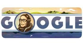 Google la describió como un símbolo de perseverancia e inspiración feminista en todo el mundo y decidió dedicarle un doodle en el 114° aniversario de su nacimiento