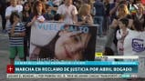 Marcha en reclamo de justicia por Abril Bogado