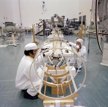 El magnetómetro del Voyager. Foto: Nasa