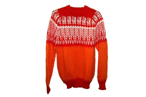 Sweater peruano ($320). Foto: Foto retoque y producción: Ariela Bernater