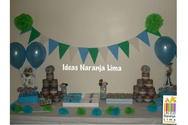 En Ideas Naranja Lima vas a encontrar todo tipo de cotillón para cumpleaños y bautismos y diversos artículos para la ambientación del lugar de festejo. Foto: Foto: Gentileza ideas Naranja Lima