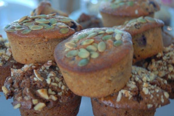Muffins de almendras, otro de los elegidos. Foto: gentileza Alguito