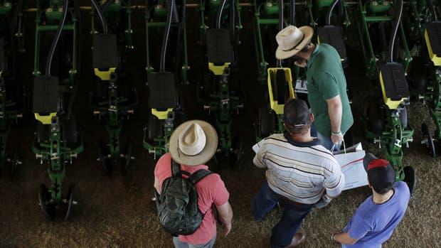 Los productores vienen de una cosecha récord en soja