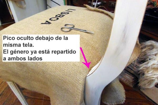 C mo tapizar una silla paso a paso revista ohlal revista ohlal - Como tapizar una silla con respaldo ...