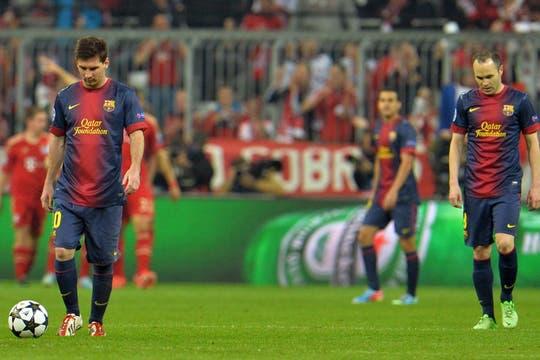 Barcelona estuvo desconocido y perdió 4 a 0. Foto: AP