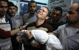 Los bombardeos israelíes mataron a varios menores en Gaza
