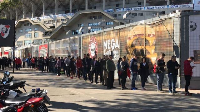 River ya vendió más de 40 mil entradas para el partido con Guaraní y el jueves se habilita la compra para los no socios