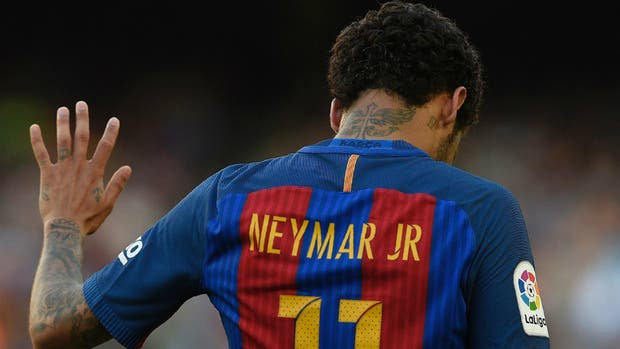 Neymar se fue por la puerta de atrás