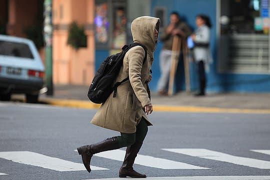Finalmente el frío llegó a Buenos Aires. Foto: LA NACION / Ricardo Pristupluk