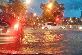 Las inundaciones complican a Santiago del Estero