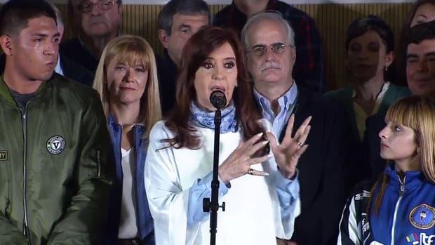 Cristina Kirchner cerró campaña en La Matanza y apuntó contra Bullrich