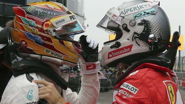 Lewis Hamilton y Sebastian Vettel, una rivalidad en aumento